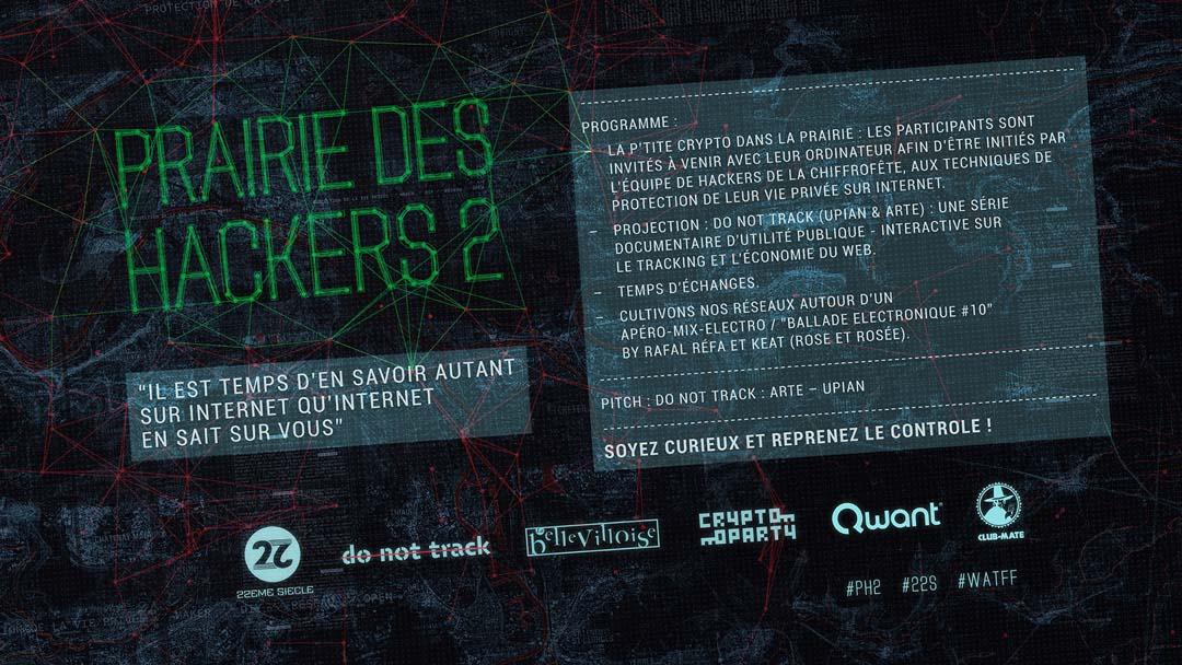 Header Prairie des hackers organisé par 22EME SIECLE