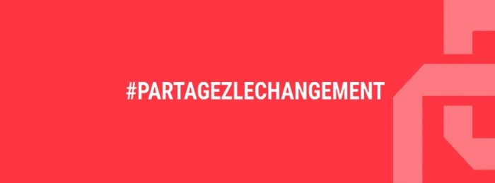 Partagez le changement