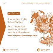 ATTEINDRE LES 17 OBJECTIFS DE DEVELOPPEMENT DURABLE