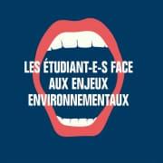 Les étudiants face aux enjeux environnementaux